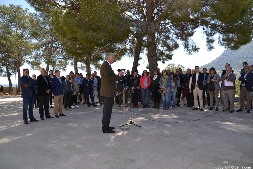 Inauguració de l'escala del Duc de Lerma - Antonio Aguilar