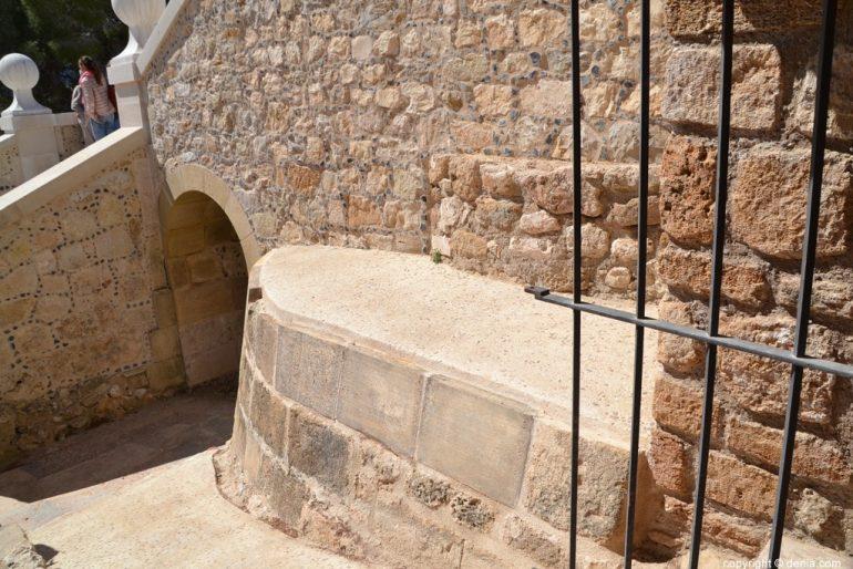 Inauguració de l'escala de l'Duc de Lerma - accés al celler