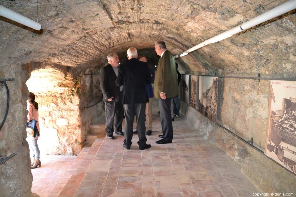 Inauguració de l'escala del Duc de Lerma - interior de la volta