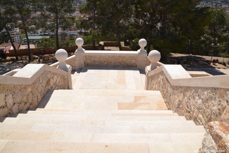 Inauguració de l'escala de l'Duc de Lerma - vista des de dalt