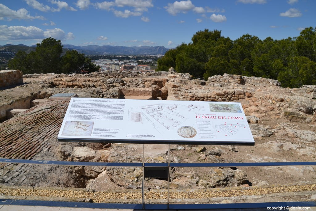 Inauguració de l'escala del Duc de Lerma - excavacions