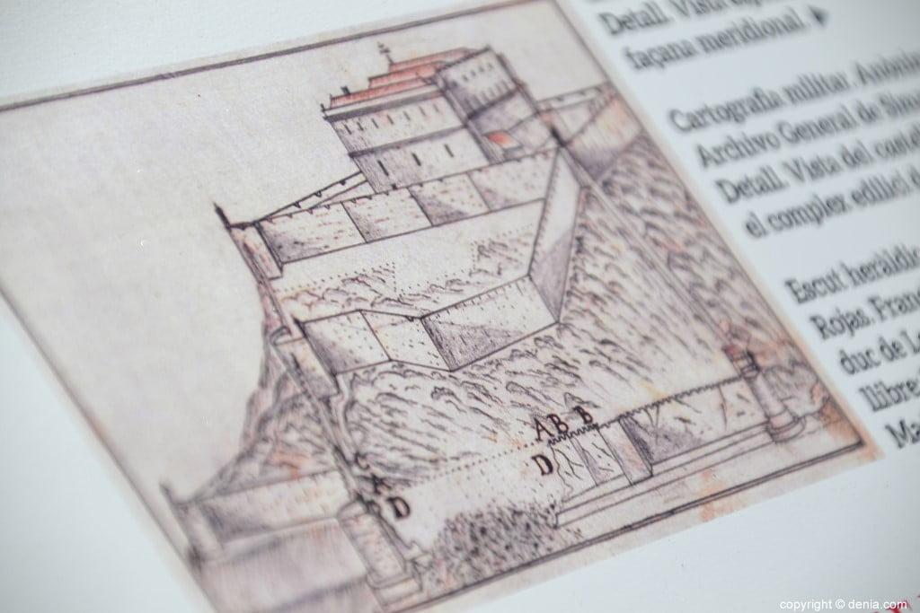 Inauguració de l'escala del Duc de Lerma - dibuixos del palau