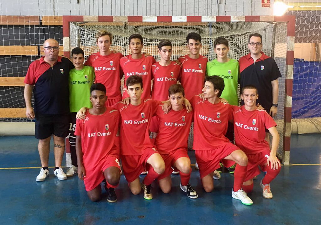 Cadete A team of Paidos Dénia