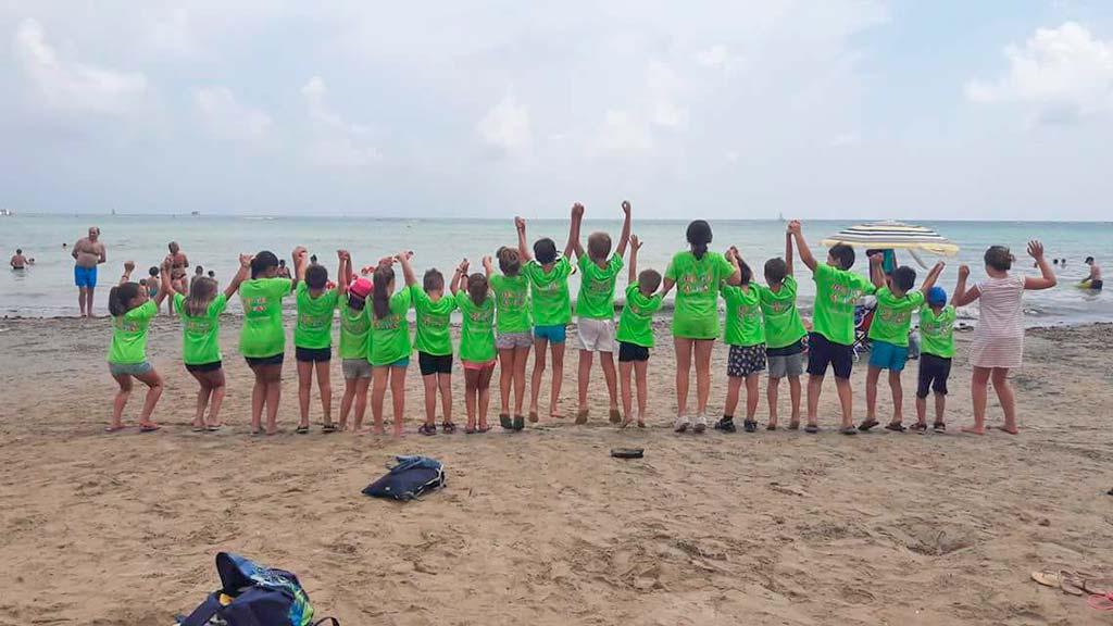 Excursió a la platja De Pe a Pa Classes Particulars