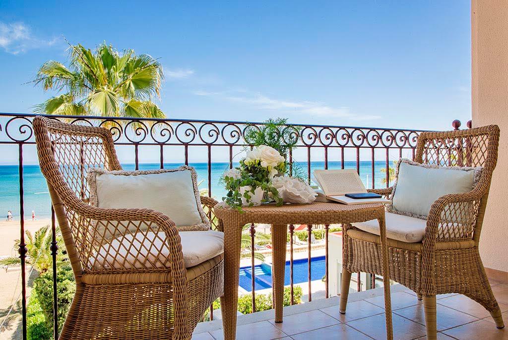 Terraza con vistas al mar Hotel Los Angeles