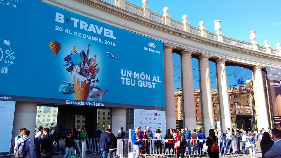Feria b travel en barcelona d for Ferias barcelona hoy