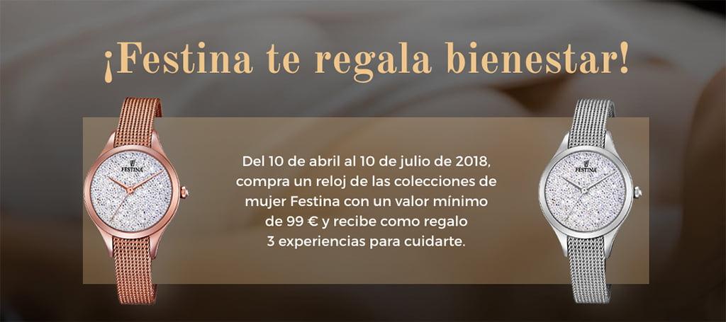 8a5242955295 Joyería-Relojería Bonilla y Argent Showroom se une a Festina para regalarte  junto con tu compra una experiencia de bienestar - Dénia.com