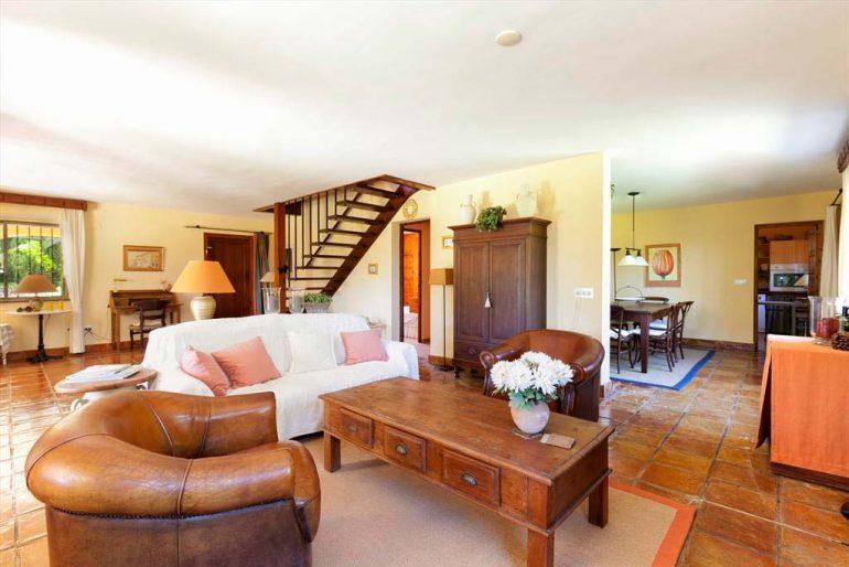 Sala d'estar àmplia Quality Rent a Vila