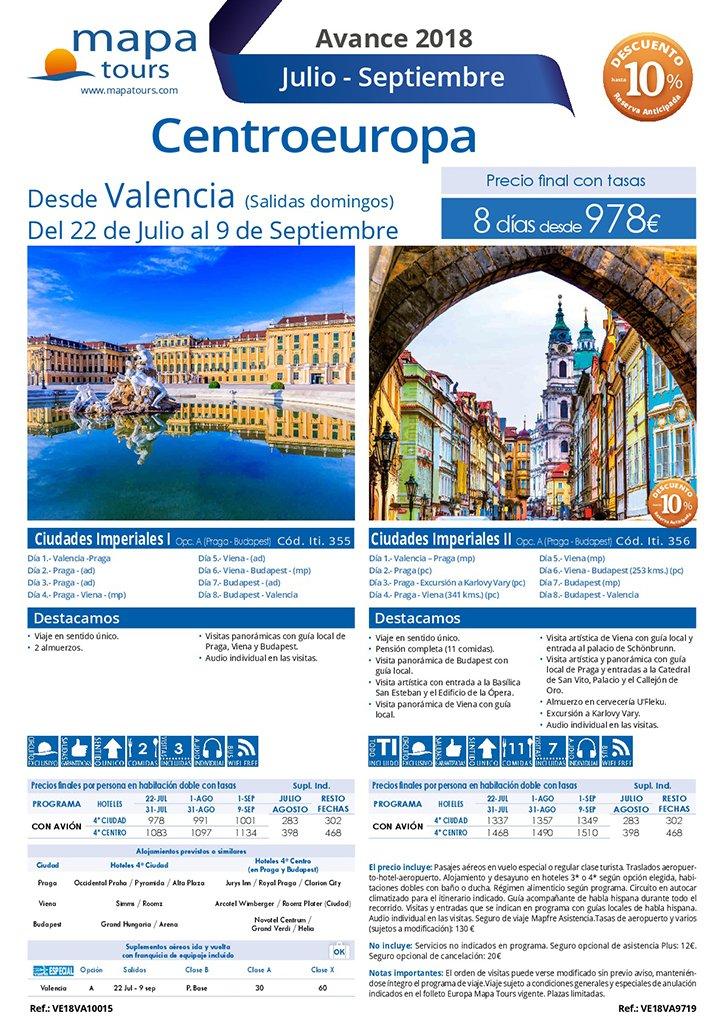 Centro Europa Praga Deni Sun Travel
