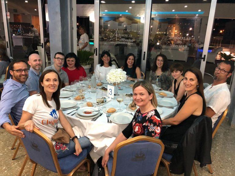 Colaboradores con la cena solidaria de Chigüines