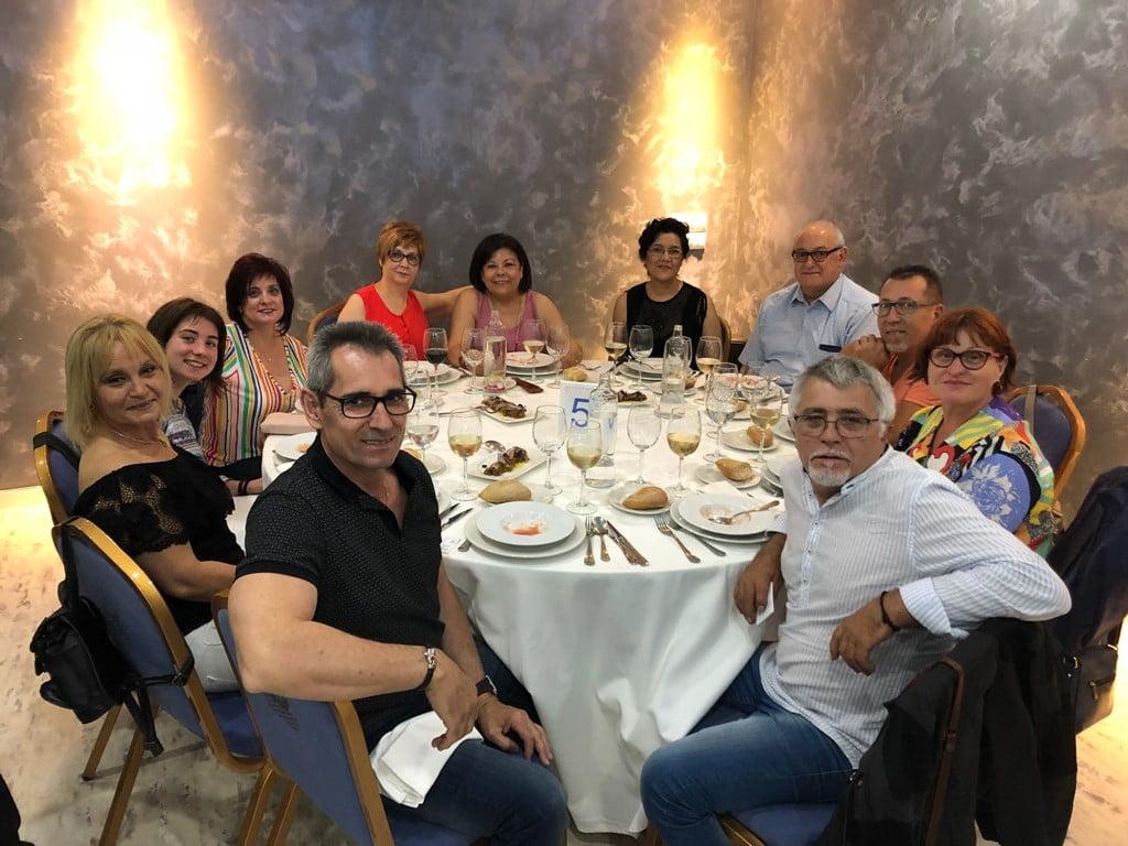 Colaboradores con la cena solidaria de Chigüines de Nicaragua en Dénia