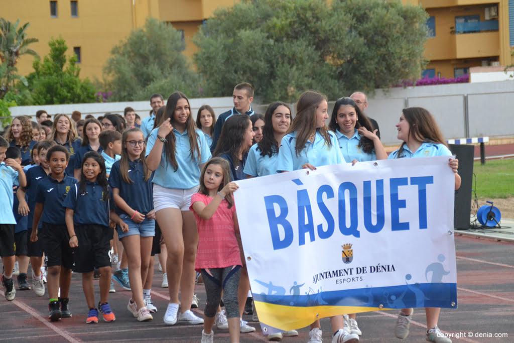 Desfile Escuela de Básquet