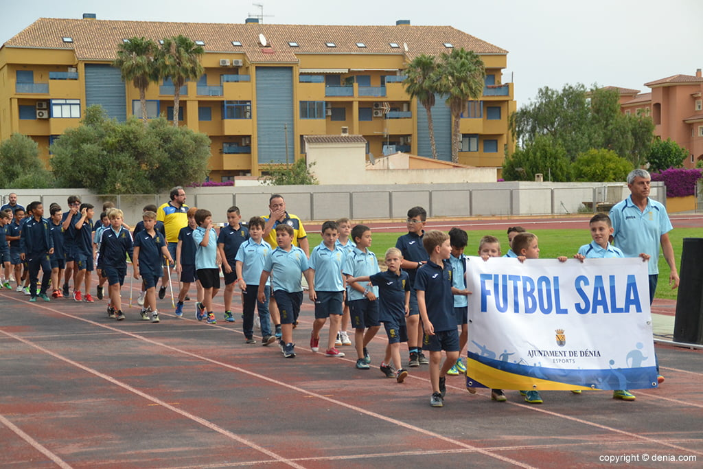 Desfile Escuela de Fútbol Sala