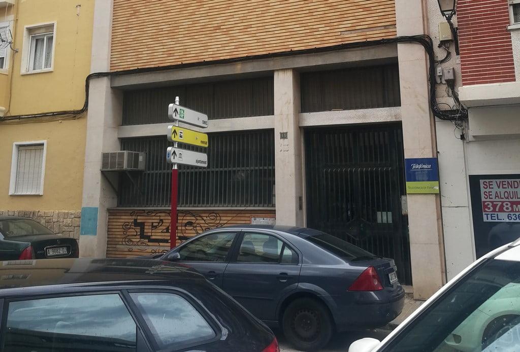 Telefongebäude in Dénia