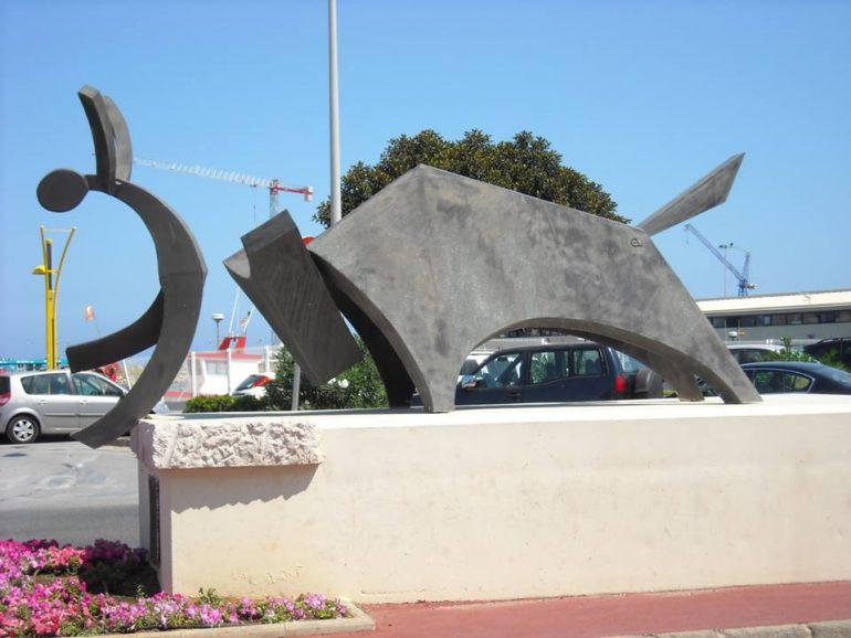 Escultura Bous a la Mar