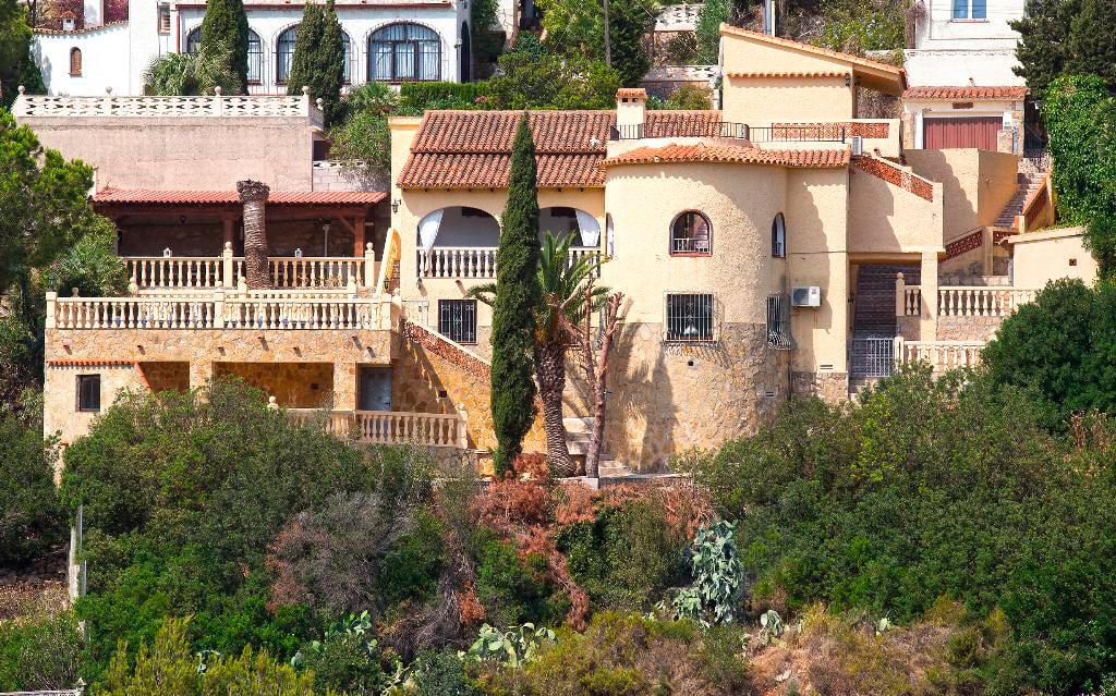 Façana de la casa Berg Quality Rent a Vila