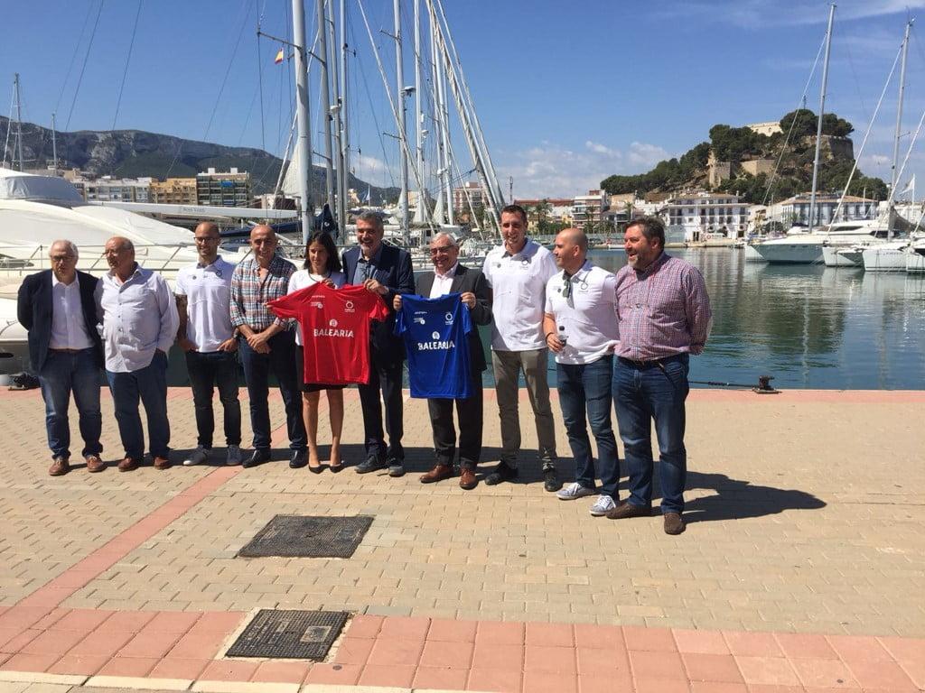 Firma de convenio entre la Fundació Baleària i la Fundació Per la Pilota Valenciana