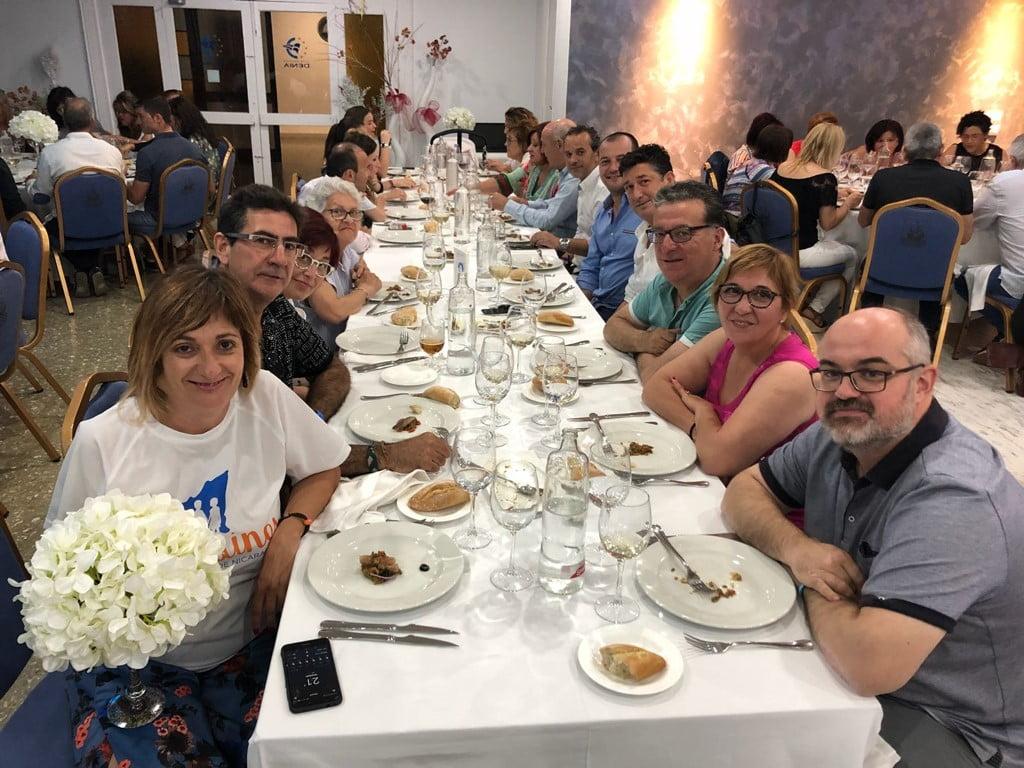 Mesa solidaria de Chigüines en Dénia