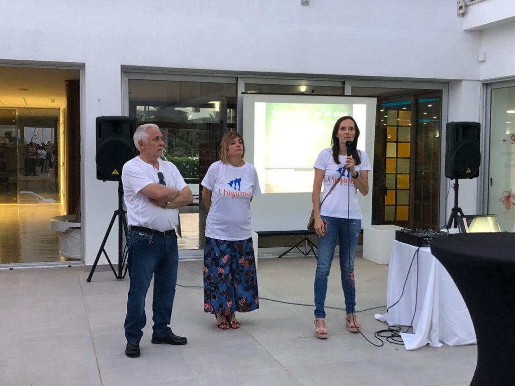 Miembros de Chigüines explican el proyecto