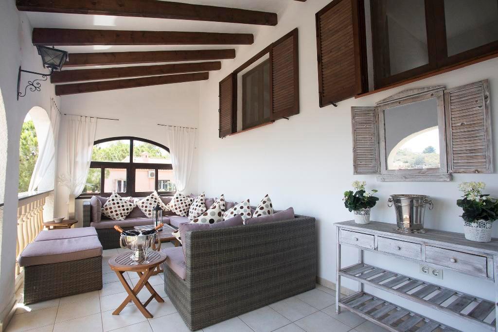 Porxo de Casa Berg Quality Rent a Vila
