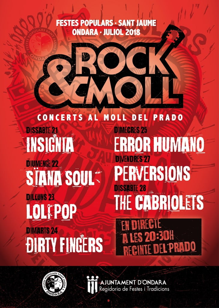 Rock and Moll Sant Jaume 2018
