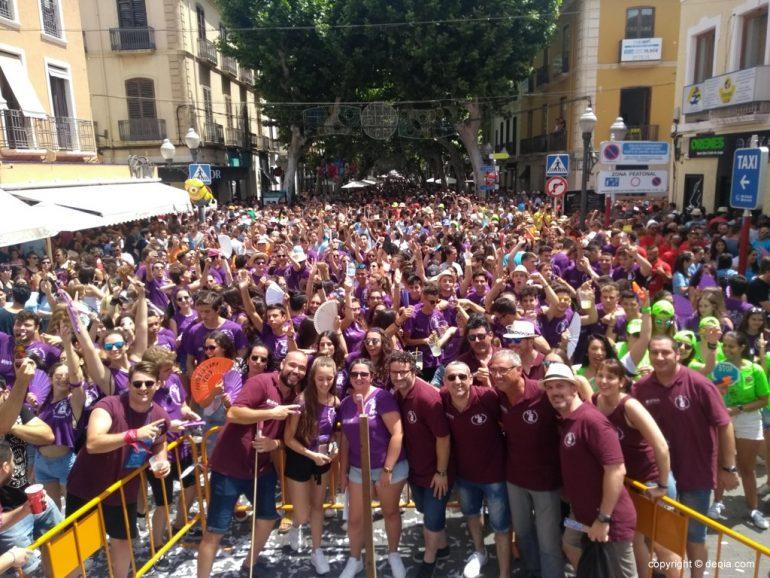 Primer día de fiestas de Dénia 2018 - chupinazo