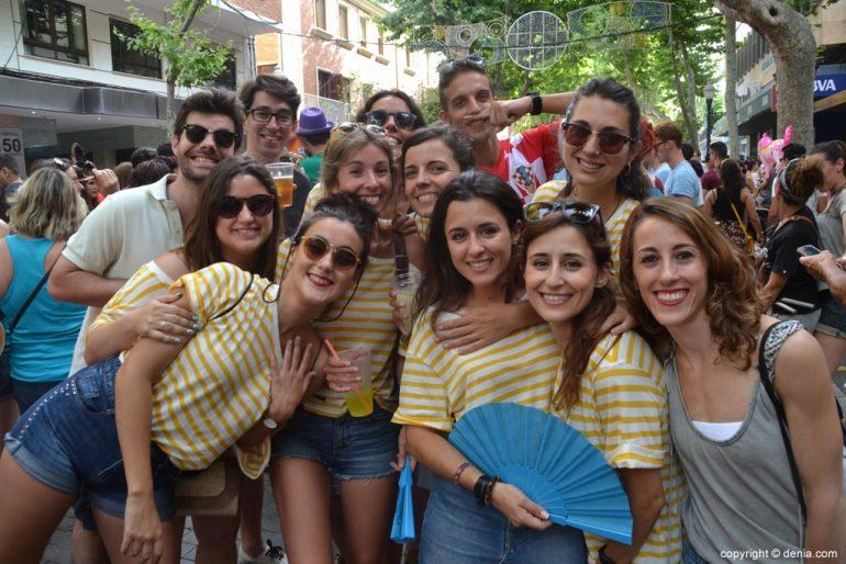 Primer día de fiestas de Dénia 2018 - Peñas