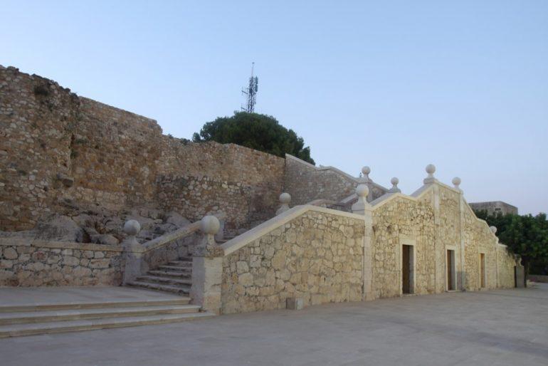 Ruta al atardecer por el Castillo de Dénia - Explanada del Gobernador