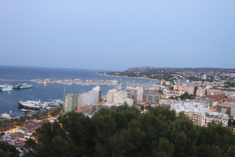 Sunset route through Dénia Castle - Views