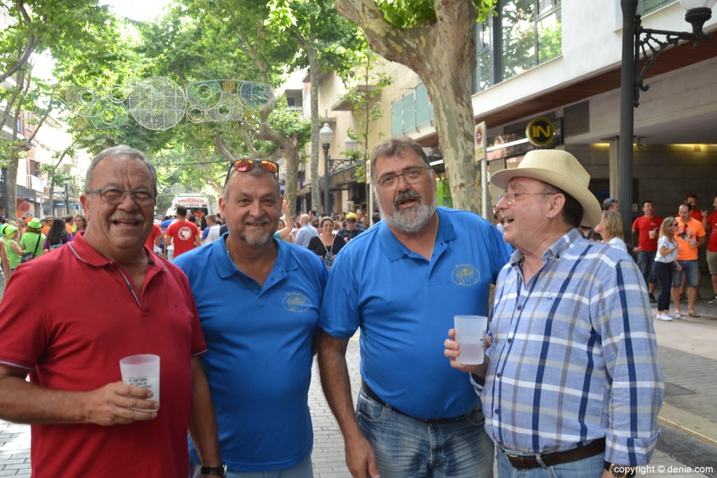 Primer día de fiestas de Dénia 2018 – Peñas