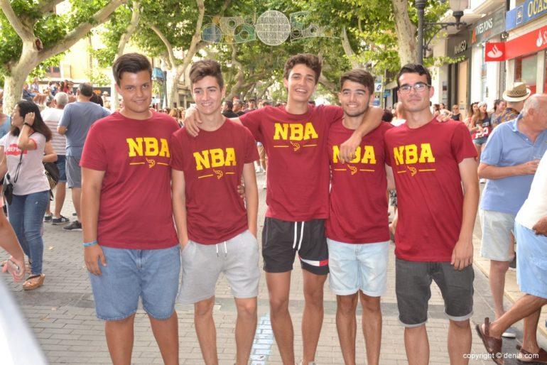 Primer día de fiestas de Dénia 2018 - NBA