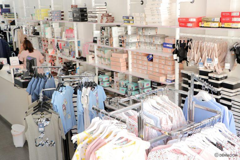 Interior tienda Marimandonas