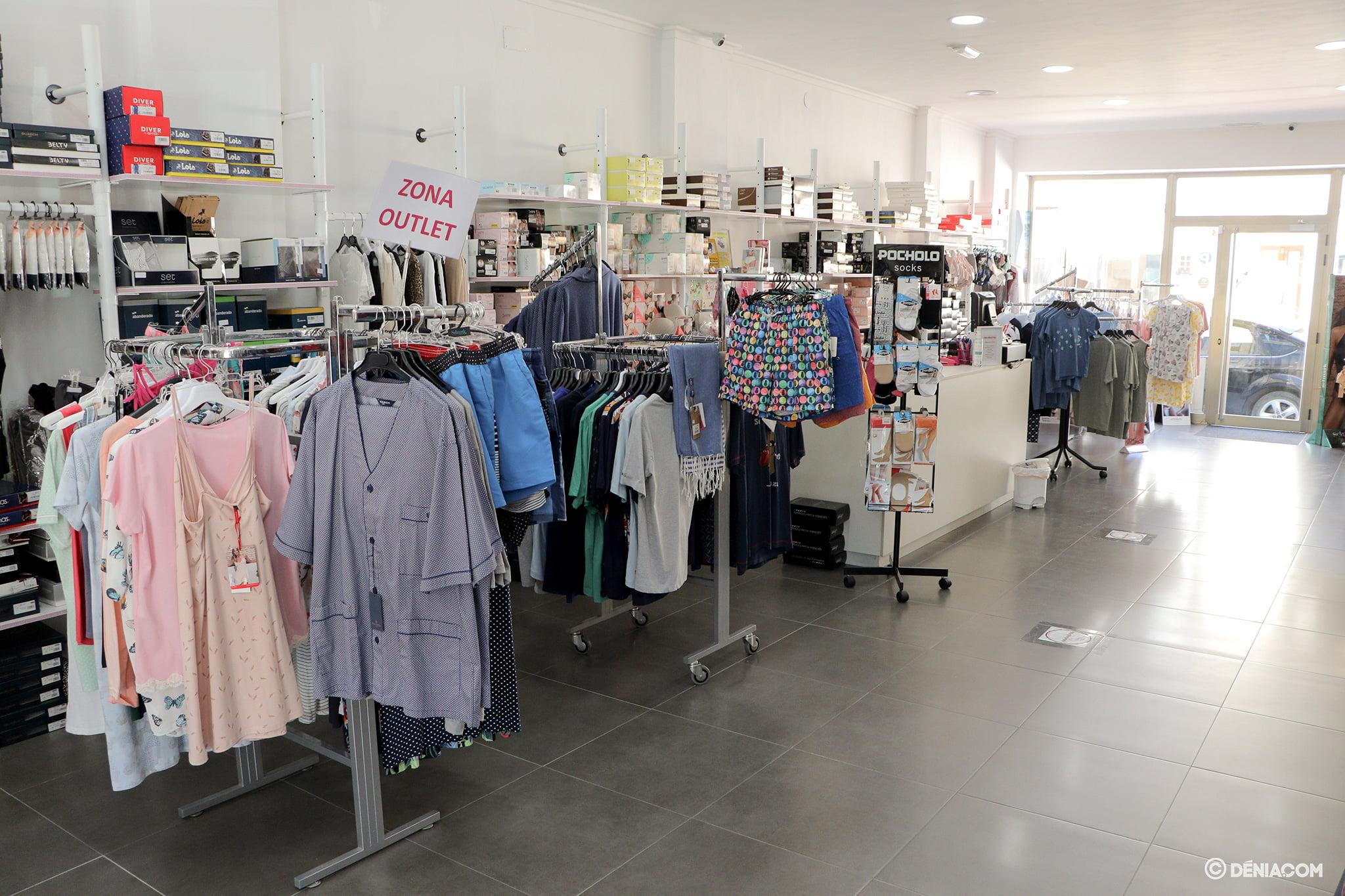 Interior tienda – Marimandonas