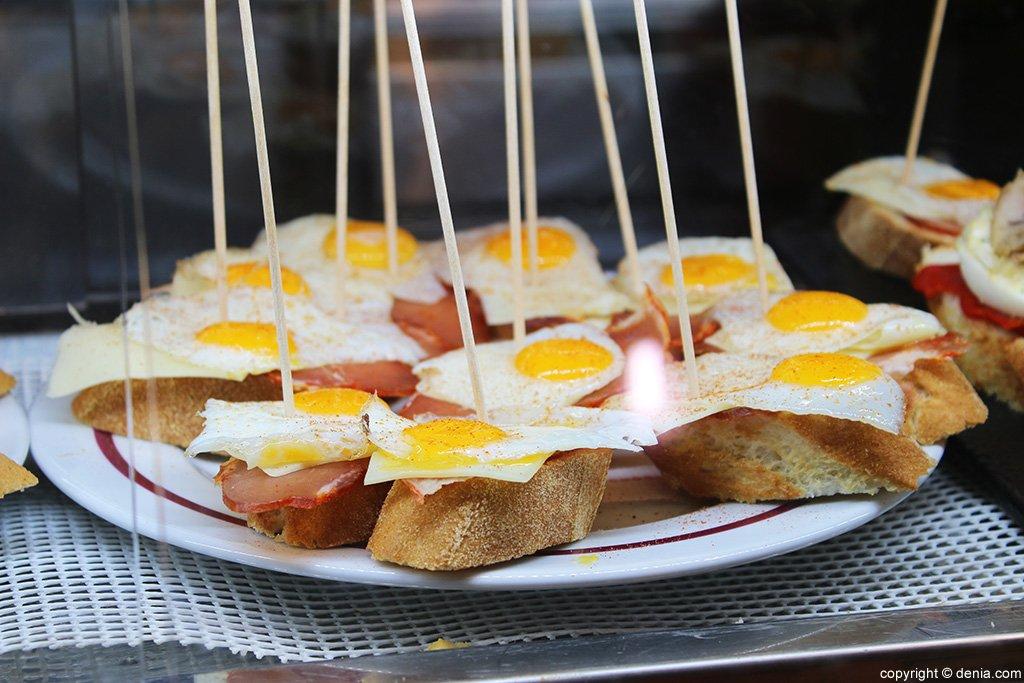 Pichos huevo en Lizarran