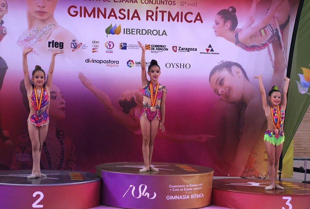 Sofía Corti medalla de bronce