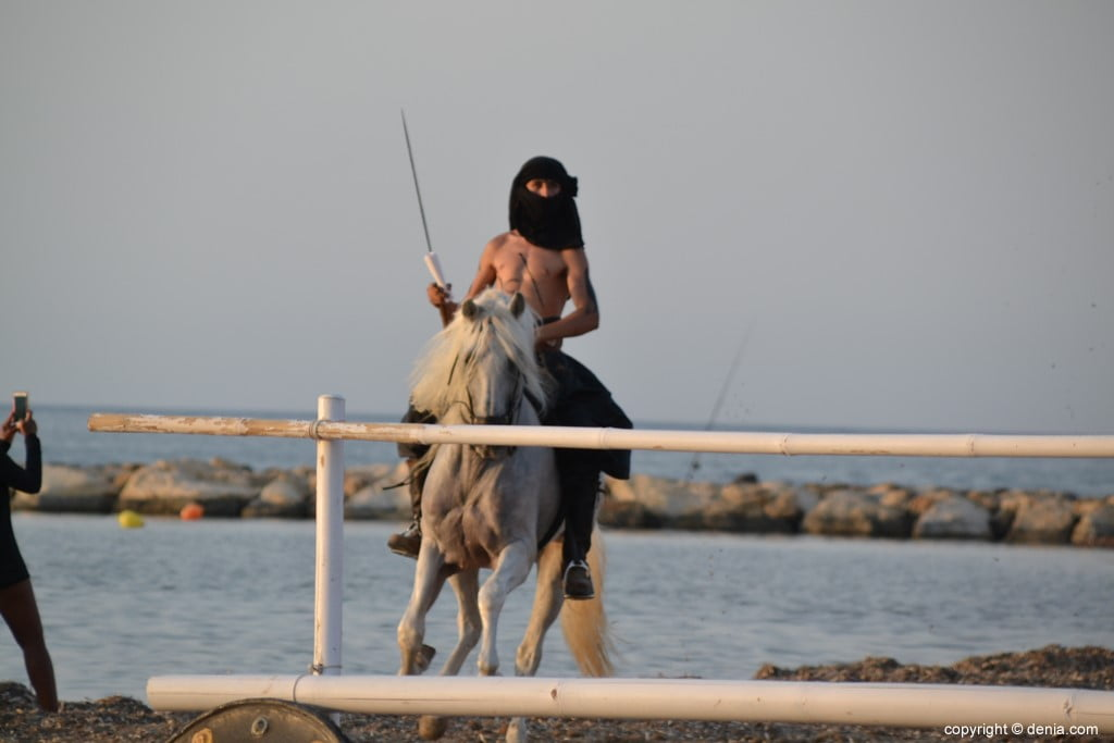 Débarquement Maures et Chrétiens Dénia 2018 - Moor à cheval