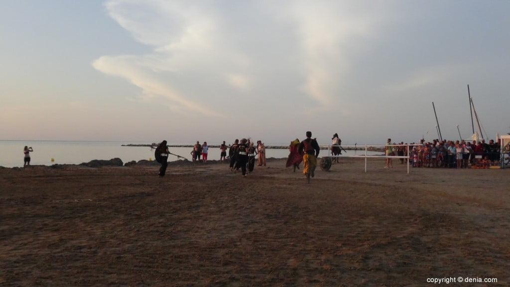 Débarquement des Maures et des Chrétiens Dénia 2018 - Fuite des Maures