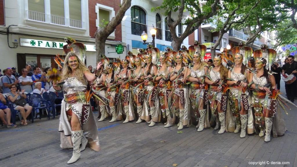 Gala défilé Moros y Cristianos Dénia 2018 - fila Almogàvers