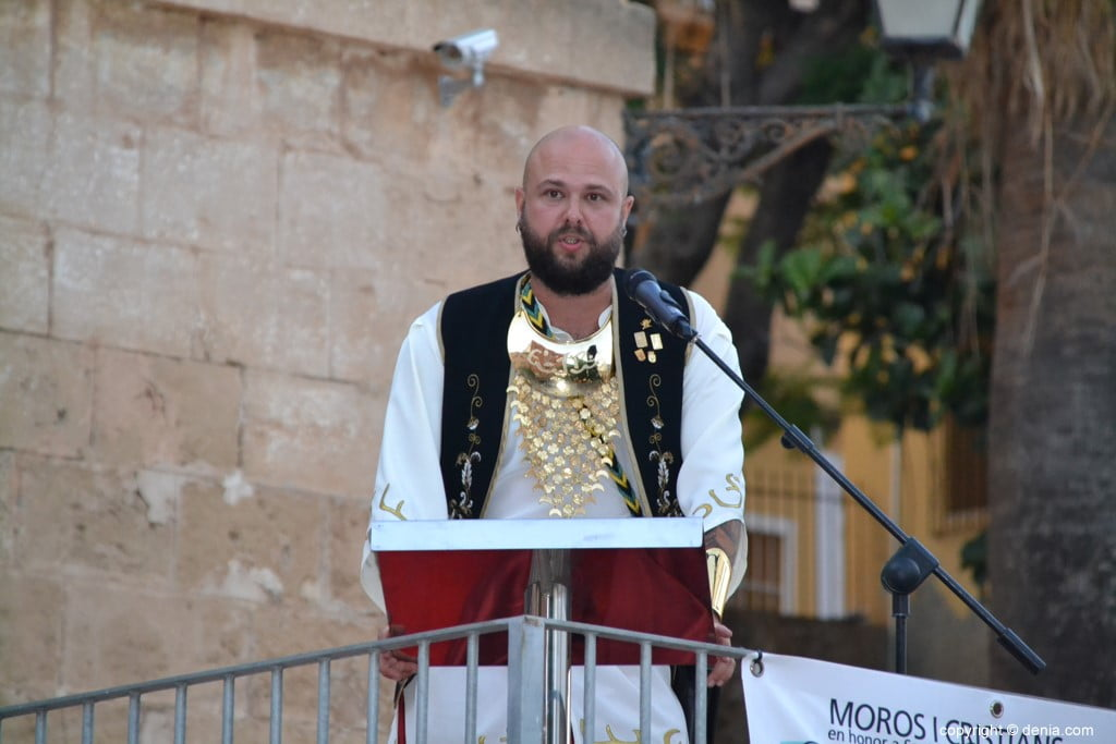 Proclamation Maures et Chrétiens Dénia 2018 - Rafa Cheli