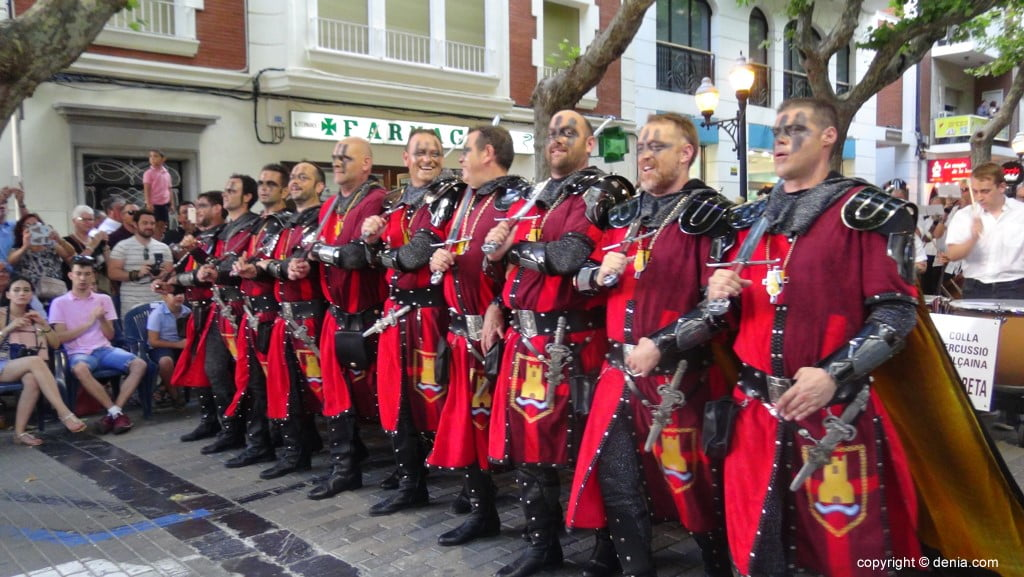 Gala défilé Moros y Cristianos Dénia 2018 - fila Deniers