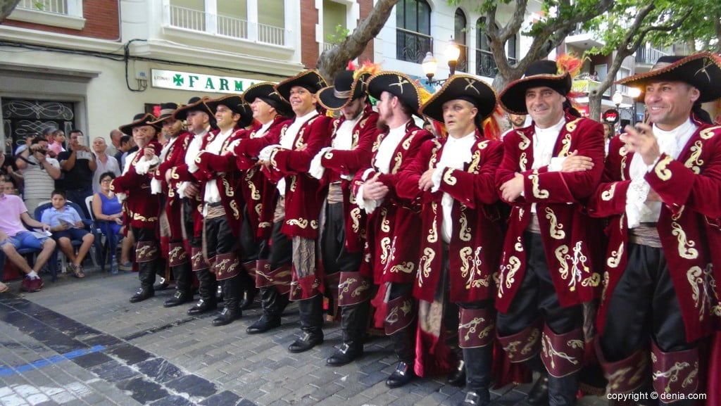 Gala défilé Moros y Cristianos Dénia 2018 - fila Corsaris Marins