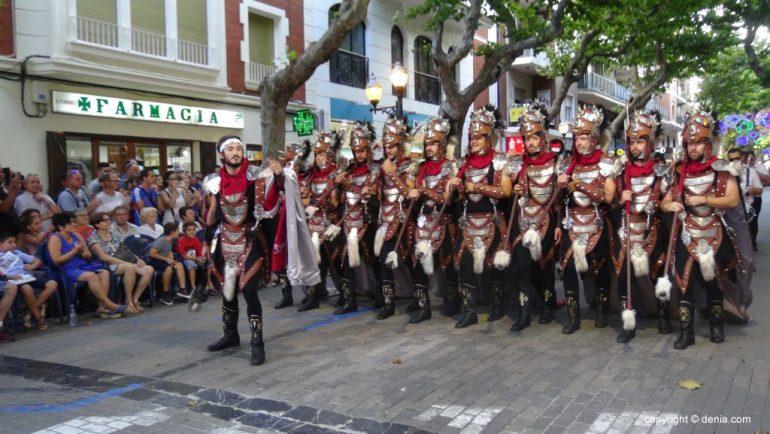 Dénia 2018 Parade de Gala Maures et Chrétiens - Filà Cavallers