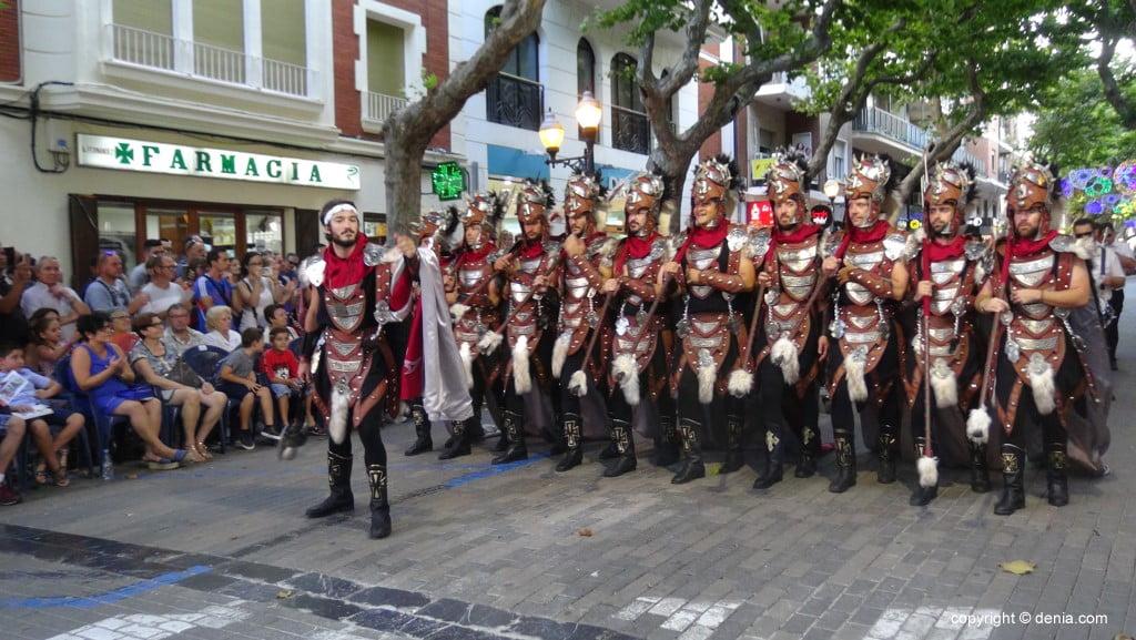 Défilé de Maures et Chrétiens Dénia 2018 - Filà Cavallers