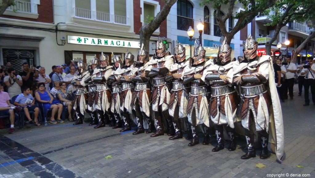 Défilé de gala maures et chrétiens Dénia 2018 - Filà Templaris