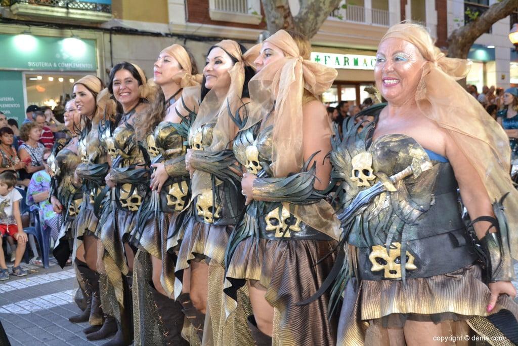 Gala défilé Moros y Cristianos Dénia 2018 - fila barbaresque