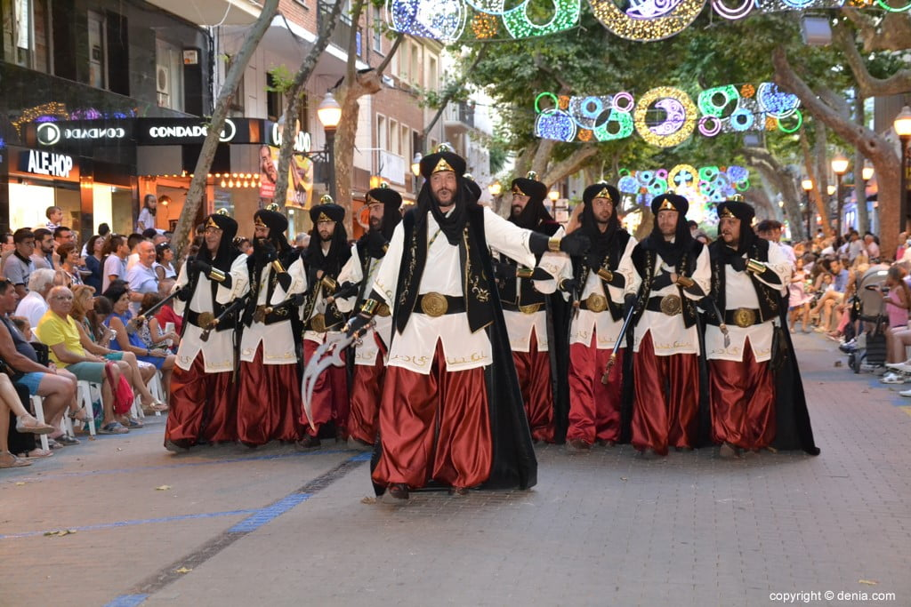 Gala défilé Moros y Cristianos Dénia 2018 - fila Abencerrages