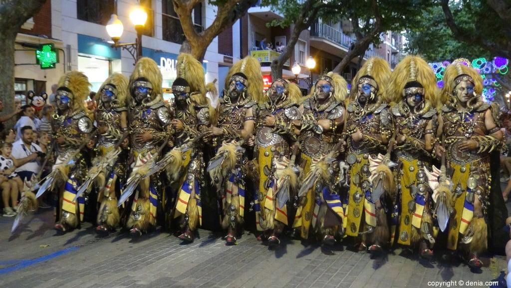 Gala défilé Moros y Cristianos Dénia 2018 - fila Amiries