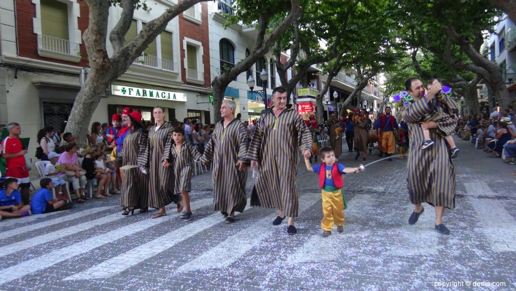 Kinderparade Dénia 2018 - Filà Amiries - Kinder