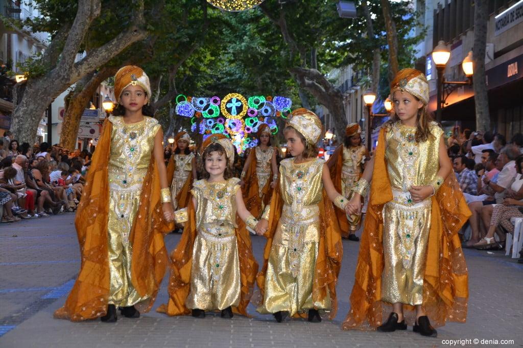 Gala défilé Moros y Cristianos Dénia 2018 - fila Almorávides