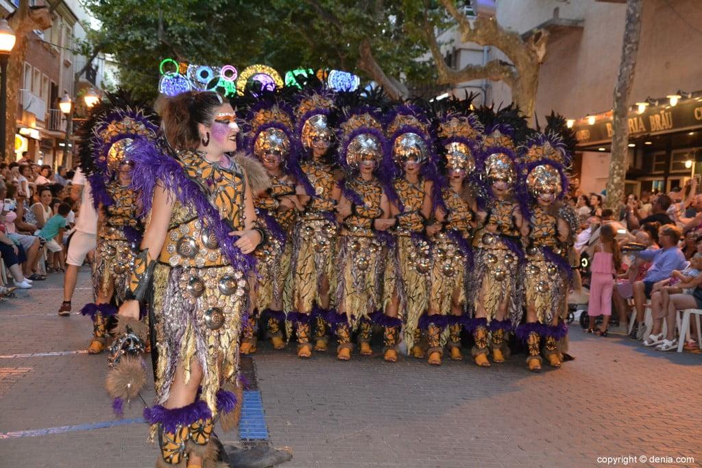 Gala défilé Moros y Cristianos Dénia 2018 - fila Alkamar